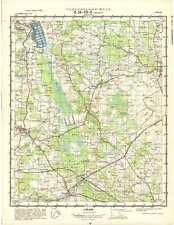 Russian Soviet Military Topographic Maps - DŽŪKSTE (Latvia), 1:50 000, ed.1972