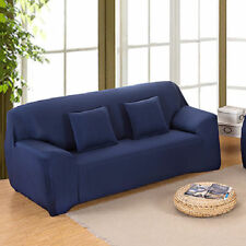 Seater Stretch Fabric Fit Sofa Lounge Removable Cover Slipcovers Nav