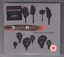DEPECHE MODE - SPiRiTS IN THE FOREST - 2 x CD + 2 x BLU-RAY, DIGIPAK, NOWA