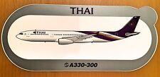 THAI AIR, A330-300, Sticker, Aufkleber, High Quality, neu/new, TOP & SELTEN !!!