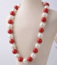 14MM AAA Multicolor South Sea SHELL PEARL necklace 16-25 inch