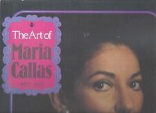 The Art of Maria Callas 1923 - 1977 EMI 4 LP´s Bel Canto Verdi Puccini Arias