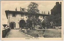 CARTOLINA d'Epoca - FIRENZE provincia - FIESOLE: Villa Medici