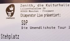 Tickets SDP München 16.04.20 Stehplätze Eintrittskarten Konzertkarten