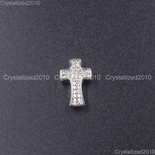 Wholesale Zircon Gemstones Pave Bracelet Pendant Connector Charm Beads 5 Pieces