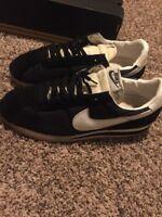 Nike Cortez OG Black White Oreo  Size 13 Mens Shoes Nylon/ Sued 100% Authentic
