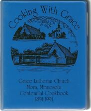 MORA, MINNESOTA COOKBOOK - GRACE LUTHERAN CHURCH - SWEDISH HERITAGE - 1991
