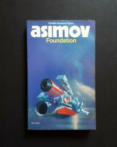 ISAAC ASIMOV: Foundation 1981  PANTHER SCIENCE FICTION PAPERBACK