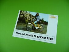 406KA2 Prospekt, brochure: Moped JAWA babetta; MOTOKOV Praha Tschechoslowakei
