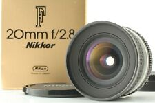 [Mint in BOX] Nikon Ai-s AIS Nikkor 20mm f/2.8 Wide Angle MF Lens from Japan