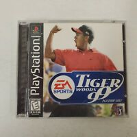 Tiger Woods 99 PGA Tour Golf 1999 Complete CIB PlayStation 1 PS1 Game Tested