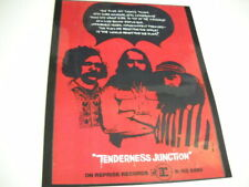The Fugs Rare Preserved 1968 Promo Poster Ad Tenderness Junction