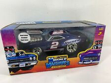 Action Muscle Machines '69 Dodge Charger car Rusty Wallace #2 NASCAR 1:24 A7