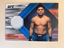 HENRY CEJUDO 2019 Topps UFC Knockout Fighter Worn Relic Patch 110/150