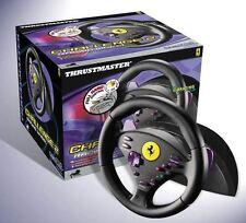 Nintendo GameCube Thrustmaster Volante Ferrari Challenge 2 Racing Wheel