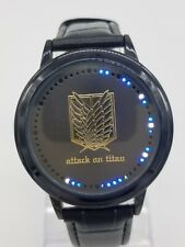 Attack on Titan Scouting Legion Touch Screen LED Digital Collectible Wrist Watch