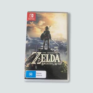 Legend of Zelda: Breath of the Wild for Nintendo Switch - Like New/Free Post 🐙