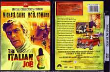 DVD Michael Caine THE ITALIAN JOB Special Collector's Edition cult WS R1 OOP NEW