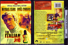 DVD Michael Caine THE ITALIAN JOB Special Collector Edition cult WS R1 OOP NEW