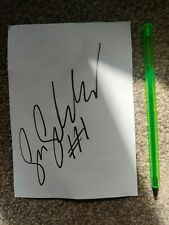 More details for sam sunderland gb ktm dakar winner hand signed signature autograph