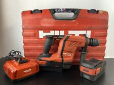 Hilti TE6-A36 AVR Cordless Rotary Hammer Drill SDS 2 x 5.2Ah Battery & Charger