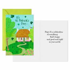 St. Patrick's Day- Hallmark St. Patrick's Day Card Assortment, Pack of 6- Nip