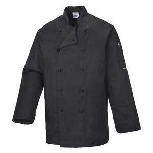 Portwest Somerset Mandarin Collar Chefs Jacket - C834