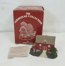 Jeffrey Scott 1850 PENNSYLVANIA DUTCH BARN Farmstead Collection MINT in BOX