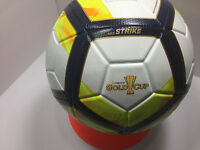 New Nike GoldCup 2017 Strike Soccer Ball White/GoldYellow/Navy Size-5/SC3184 100