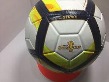 New Nike GoldCup 2017 Strike Soccer Ball White/GoldYellow/Navy Size-5/Sc3184 100