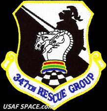 "USAF 347th RESCUE GROUP -HH-60-Moody AFB, GA- ORIGINAL AIR FORCE 3.5"" VEL PATCH"