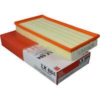 Original MAHLE / KNECHT Luftfilter Filter LX 684 Air