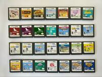 Nintendo DS Games, Cartridge Only, Select Your Title, For DS or 3DS Systems