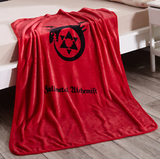 Fullmetal Alchemist star coral fleece throw blanket blankets quilt100x140CM