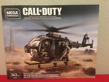 Mega Construx Call of Duty Special Ops Copter Gcp11 Load Your Favorite Crate!