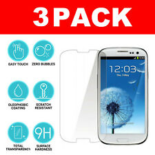 For Samsung Galaxy S3 i9300 Genuine Protective Tempered Glass 9H Screen Film