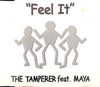 The Tamperer Feat. Maya ‎Maxi CD Feel It - France (G/EX)
