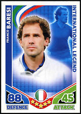 Franco Baresi Italy Topps 2010 Match Attax England Trade Card (C397)