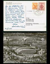 Mayfairstamps Australia 1956 Olympics Pictorial Cancel Photo Postcard wwp605