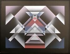 """John Martineau """"Apogee"""" Signed & Numbered Serigraph Airbrush Print, Make Offer!"""
