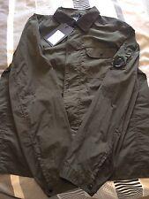BNWT CP COMPANY Chrome Overshirt Jacket Khaki Olive Green XL