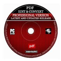 2020 Pro PDF Editor Converter & Viewer - Save Edit Open Convert Any Text & PDF +