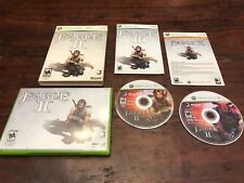 Fable II Limited Collector's Edition (Xbox 360) BC Xbox One w/Slipcover DVD RPG