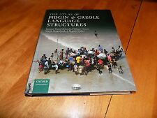 THE ATLAS OF PIDGIN & CREOLE LANGUAGE STRUCTURES Oxford Linguistics Book NEW