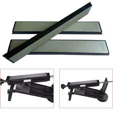3X Knife Cutlery Sharpener Stone Rectangular Diamond Grindstone Kits