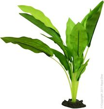 Aqua One A1-24124 Silk Plant Amazon Sword Broad Leaf 30cm For Freshwater Tank