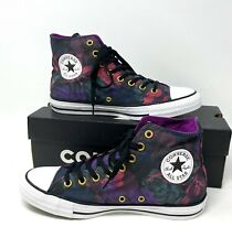 Converse  Chuck Taylor AS High Canvas Black Floral Women's Sneakers 561641F