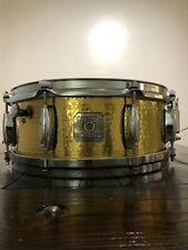 "Gretsch Full Range Silver Series 5"" x 13"" Hammered Brass Snare Drum"