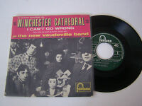EP 4 TITRES VINYL 45 T , THE NEW VAUDEVILLE BAND WINCHESTER CATHEDRAL . EX / EX
