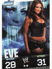WWE Slam Attax Evolution-Eve SMACKDOWN carte